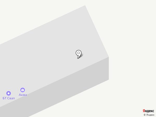 Тонких Е.В. на карте Астрахани