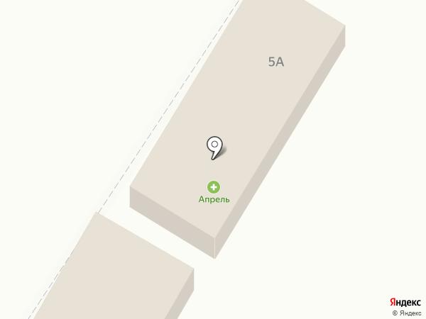 Продуктовый магазин на Тополинская на карте Астрахани