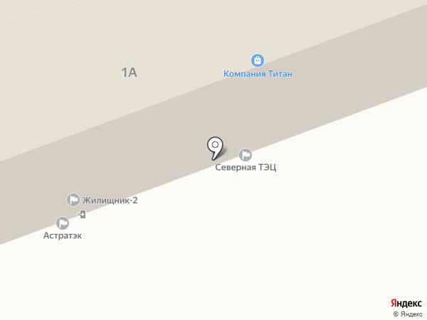 МКС-Поволжье на карте Астрахани