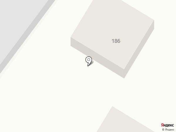 Жар-Птица на карте Астрахани
