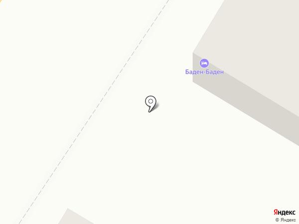 Баден-Баден на карте Астрахани