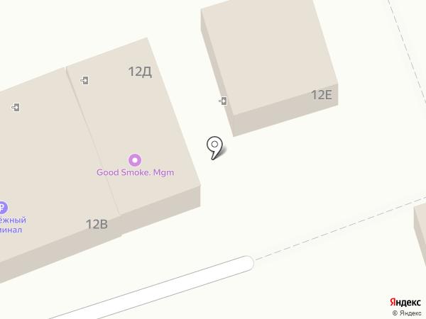 Закусочная на карте Астрахани