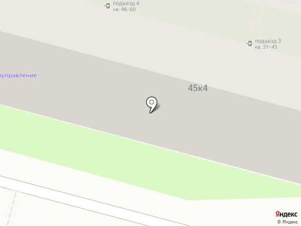 Домоуправление на карте Астрахани