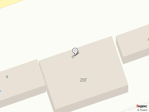 Киоск по продаже шаурмы на карте Астрахани