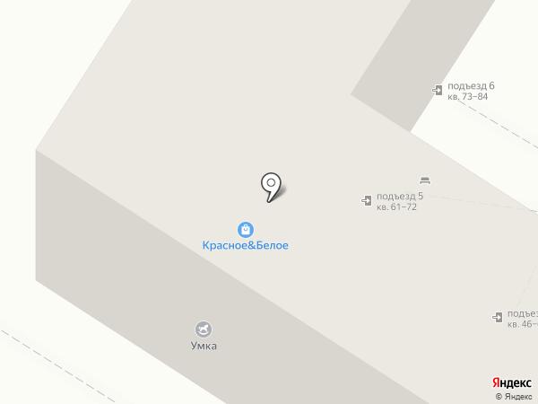 Фокус на карте Астрахани