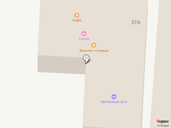 Шелковый путь на карте Солянки