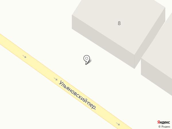Раздолье на карте Астрахани