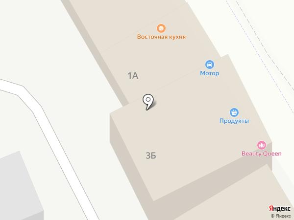 Магазин автотоваров на карте Солянки