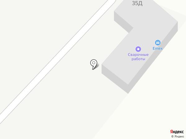 Автостоянка на карте Солянки