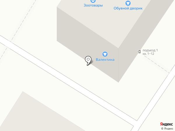 Магазин детской одежды на карте Астрахани