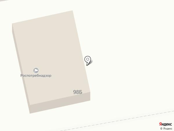 Роспотребнадзор, Территориальный отдел Управления Федеральной службы по надзору в сфере защиты прав потребителей и благополучия человека по Астраханской области в Наримановском на карте Астрахани