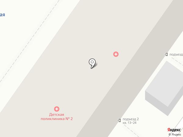 Банкомат, Московский Индустриальный банк на карте Астрахани
