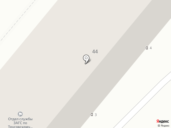 Библиотека №1 на карте Астрахани