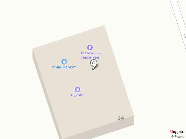 АЗС Лукойл на карте Солянки