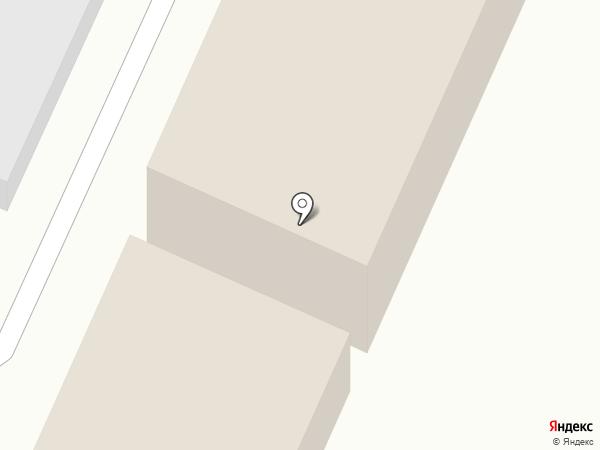 Армада на карте Астрахани