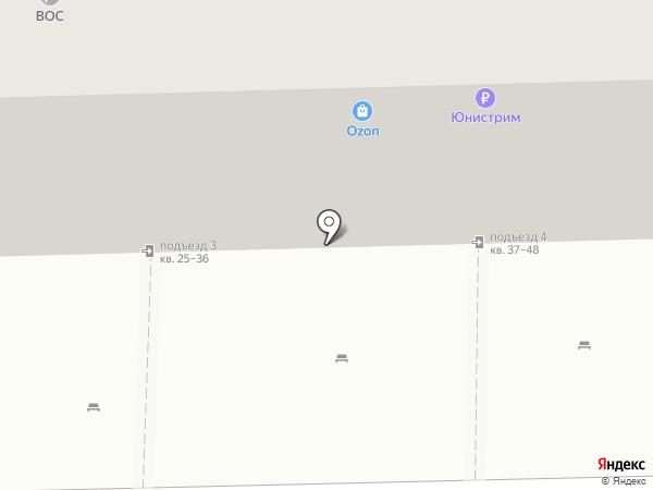 Почтовое отделение №51 на карте Астрахани