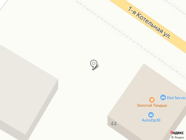 СТО АВТОМОТОВ на карте Астрахани