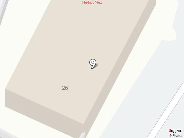 АВАНГАРД-АВТО на карте Астрахани