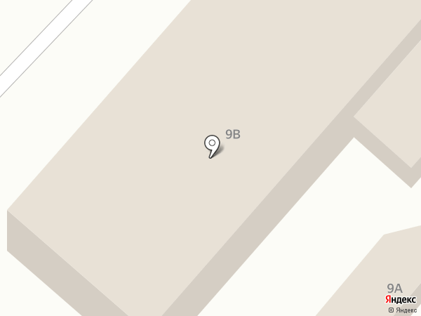 Парикмахерская на ул. Дзержинского на карте Астрахани
