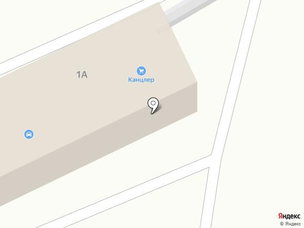 Tiens на карте Астрахани