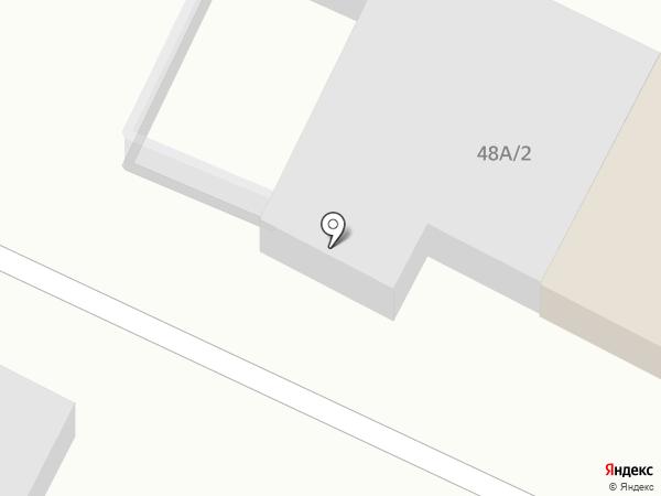 Рубеж-А на карте Астрахани
