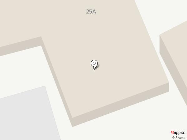 Аварийно-диспетчерская служба на карте Астрахани
