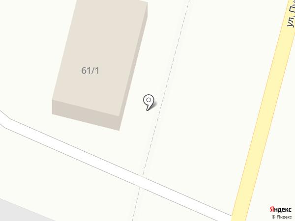 Хутор пива на карте Астрахани
