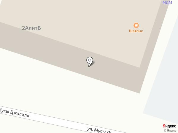 МДМ на карте Пригородного