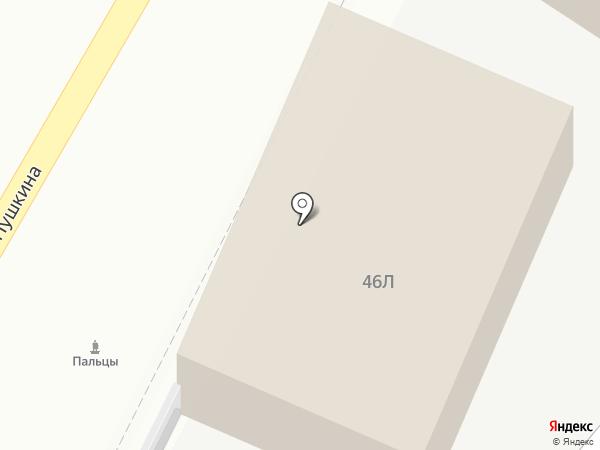 Строй КРЕП на карте Астрахани