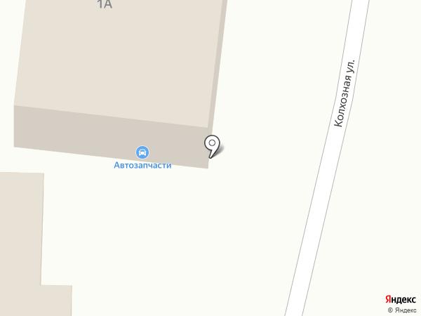 Магазин автозапчастей на карте Солянки