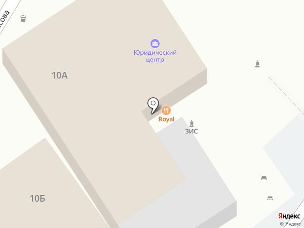 Royal на карте Астрахани