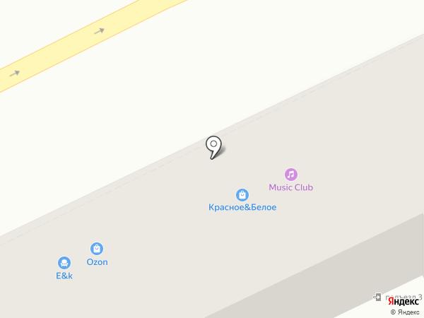 Music Club на карте Астрахани