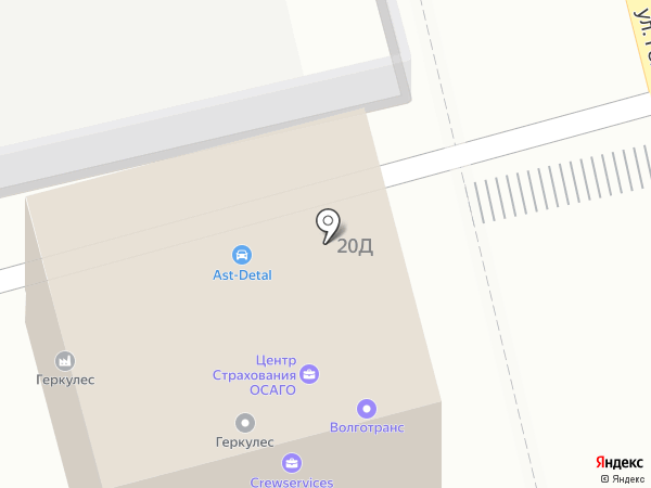 А деталь на карте Астрахани