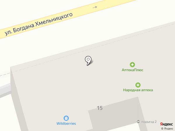 Тётя-Мотя на карте Астрахани