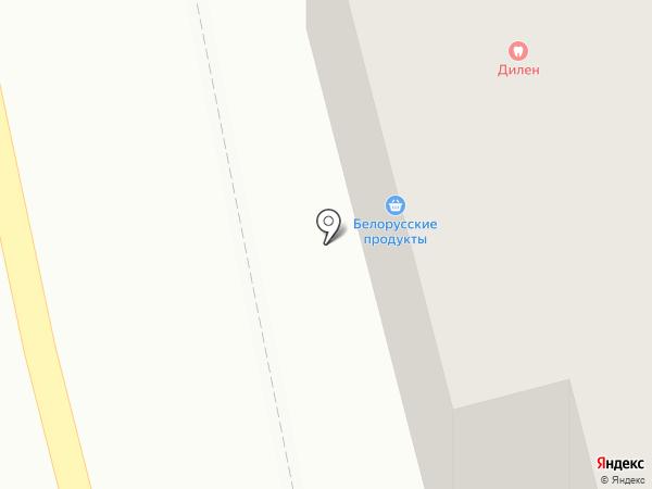 Пан разливан на карте Астрахани