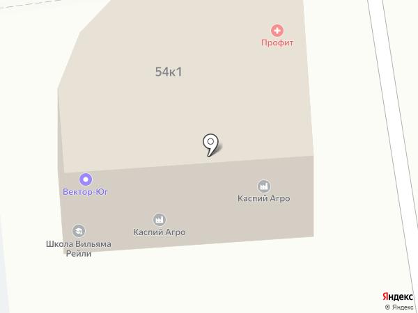 Керама плаза на карте Астрахани