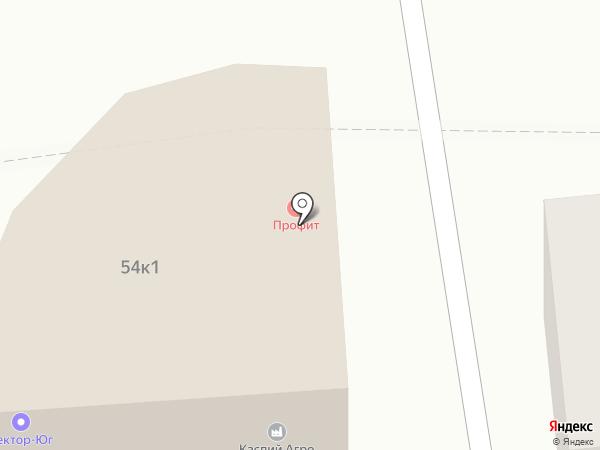 Юридический кабинет на карте Астрахани