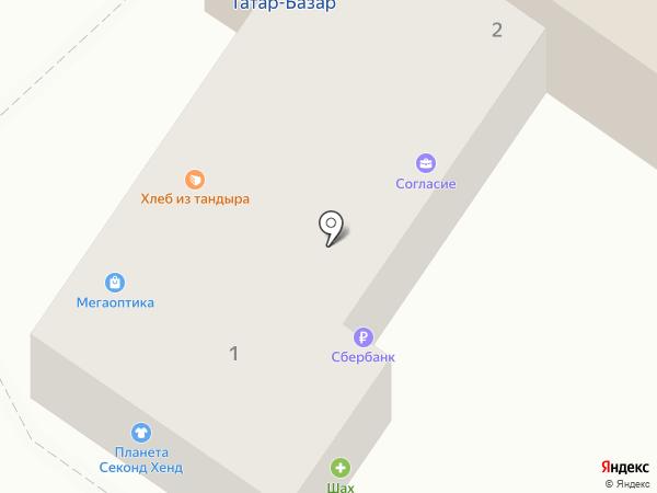 Спецназ на карте Астрахани