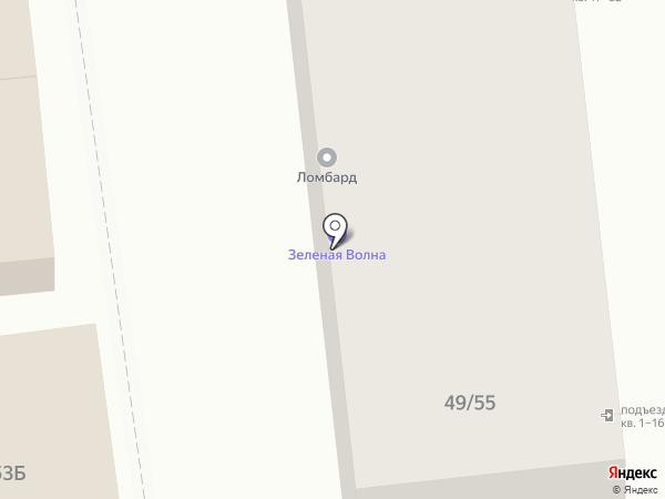 Магазин швейной фурнитуры на карте Астрахани