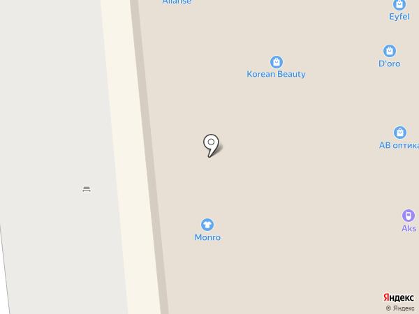 СОЛЬ на карте Астрахани