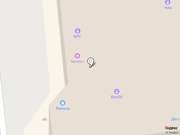 Rayana на карте Астрахани