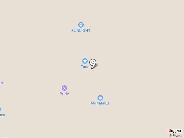 AVVA на карте Астрахани