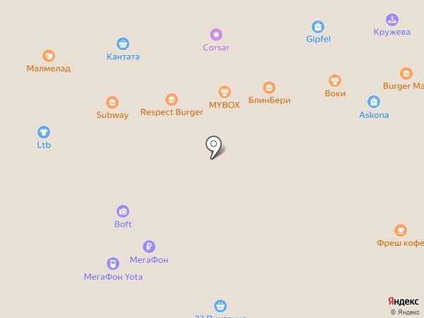 Point на карте Астрахани