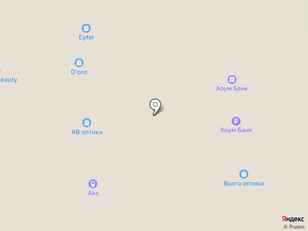 Банкомат, Банк Хоум Кредит на карте Астрахани