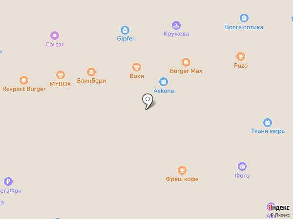 Strellson на карте Астрахани