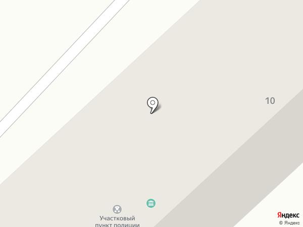 Участковый пункт полиции №11 на карте Яксатово