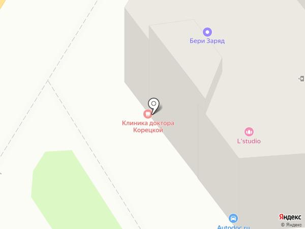 Джул.И на карте Астрахани