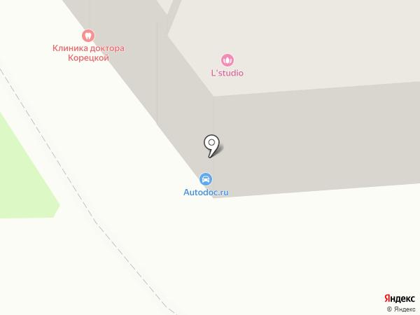 Рахман на карте Астрахани