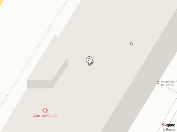 Олива на карте Астрахани