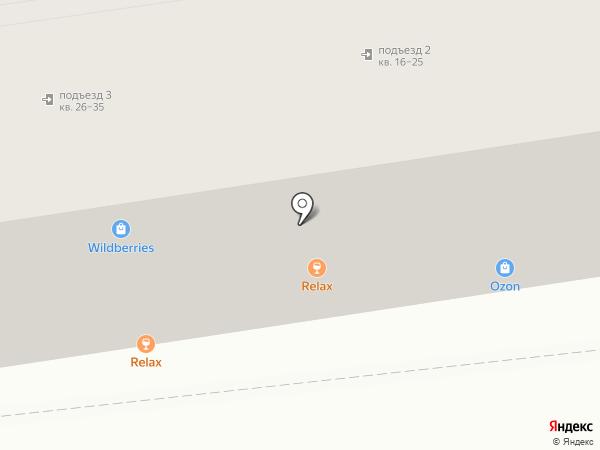 Флотснаб на карте Астрахани